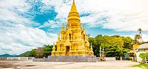 The Golden Pagoda Khao Chedi